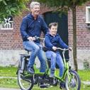 a62cfce79cc Child & Parent Tandem Companion Bike Kivo Van Raam
