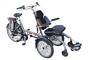 Van Raam O'Pair Wheel Chair Bike Split Frame, Special Needs Trikes, Disabled Trikes, Disabled Bikes, Special Needs Bikes
